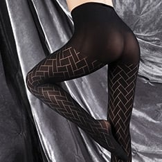 Ultimates Victoria seamless ladder-proof tights