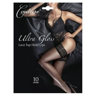 Couture Ultra Gloss lace top thigh highs