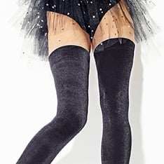 Velours velvet thigh highs - SAVE 15%