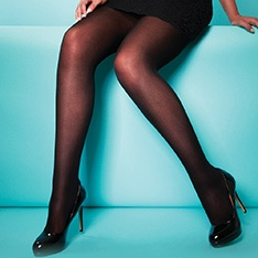XeLence 50 denier PLUS SIZE opaque tights